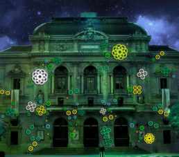 spots de la fête des lumières